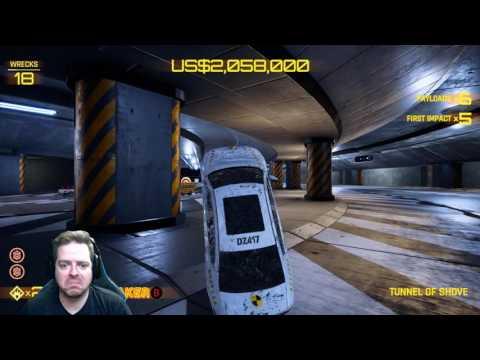 Possessed Car - Tunnel of Shove - DANGER ZONE (No Audio)