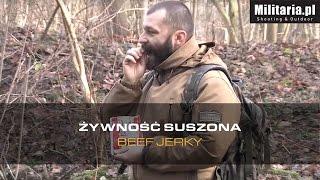 Żywność suszona Beef Jerky - Militaria pl