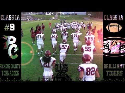 2018 Pickens County vs Brilliant Highlight Video