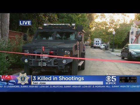 San Jose Double Homicide Suspect Dies In Armed Standoff