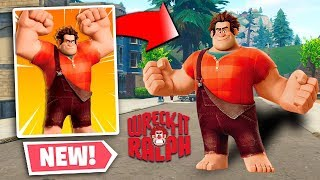 NEW Fortnite Wreck It Ralph COLLAB! Wreck It Ralph In Fortnite (New Fortnite Update)