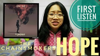 reaction: hope (The Chainsmokers) audio Video