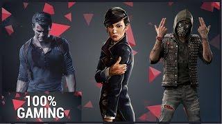 Les 3 meilleurs jeux Action/Aventure de 2016 (100% Gaming)