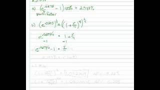 Calculating Annual Percentage Yield (APY)