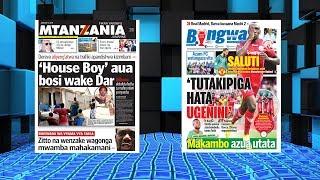 YALIYOJIRI MAGAZETI YA MTANZANIA, BINGWA JANUARI 15/2019