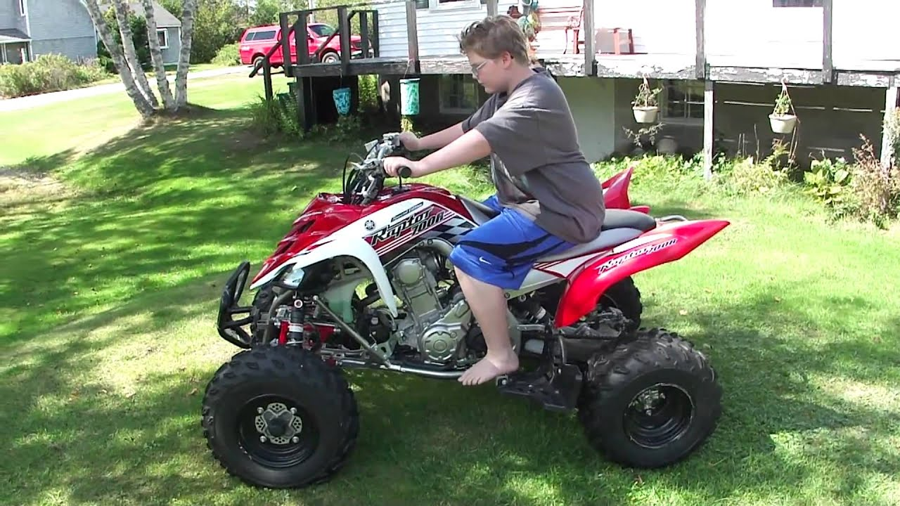 2008 Yamaha Raptor 700r SE - YouTube