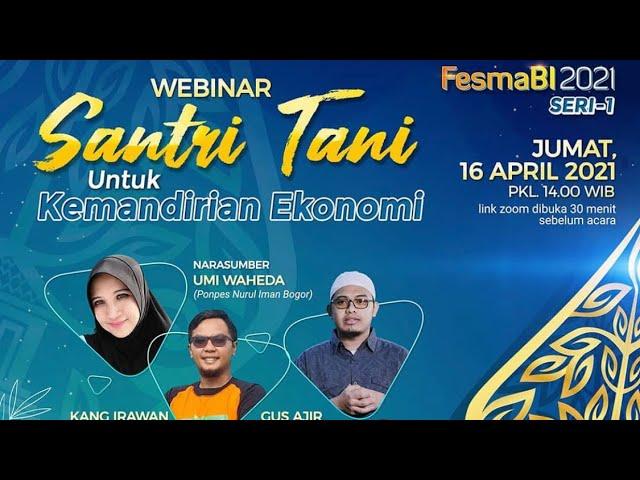 FESMABI 2021 SERI-1 HARI KE DUA PERSEMBAHAN KANTOR BANK INDONESIA PURWOKERTO