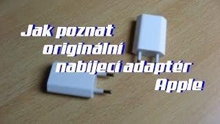 Jak poznat originální nabíjecí adaptér Apple