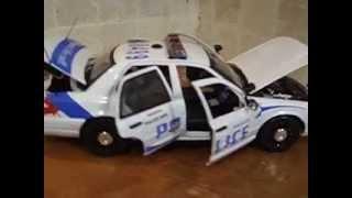 Vancouver British Columbia K9 Police Unit 1/18 Diecast Car