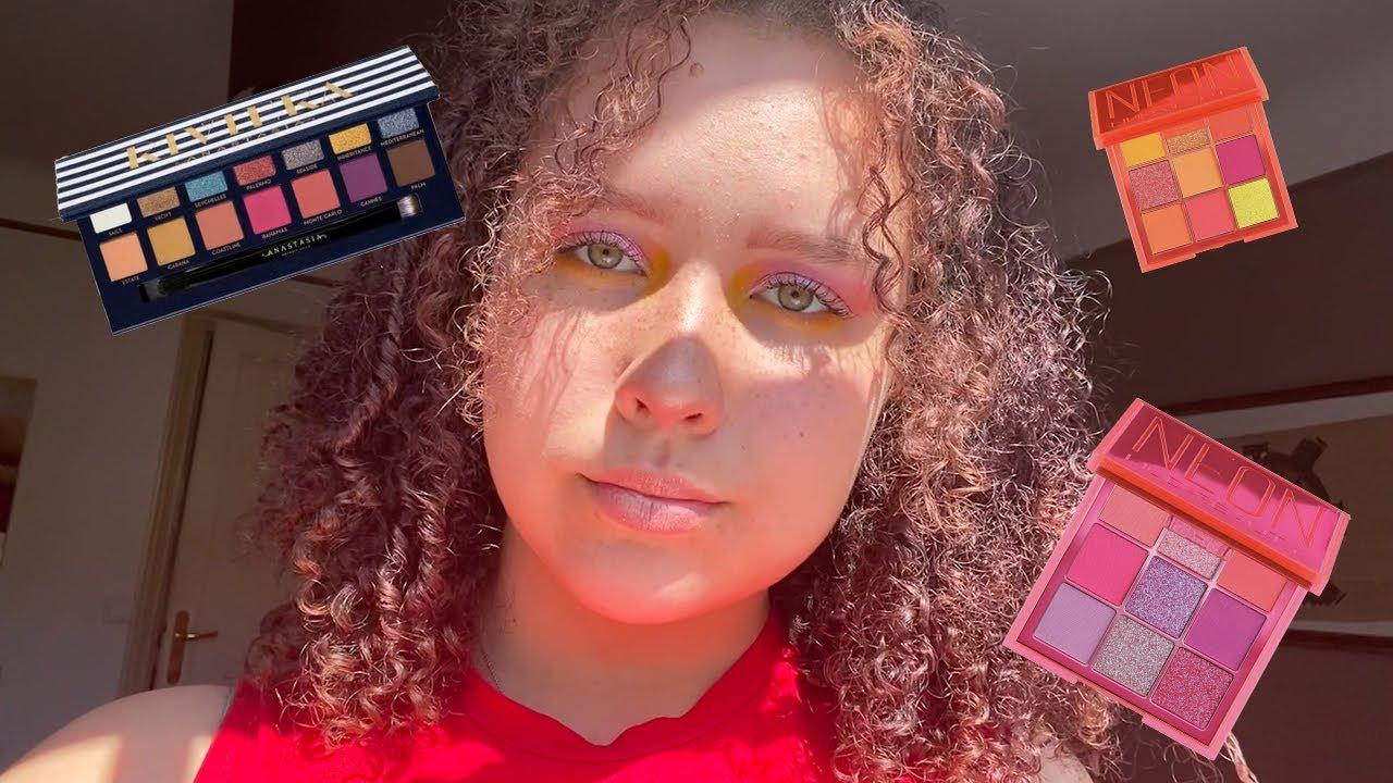 @Camille Ricordel: TUTO Makeup COLORÉ 💜💛