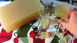 Мыльная основа с нуля своими руками (рецепт под видео)