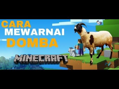 Cara Mewarnai Domba Minecraft Pe Youtube