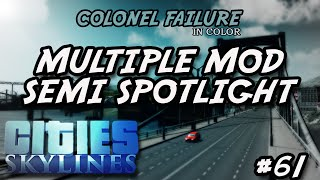 Cities Skylines #61 : Multiple mod semi spotlight