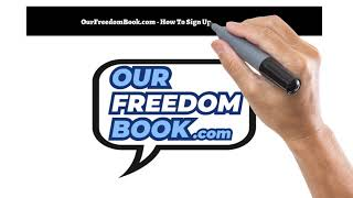 Our Freedom Book - Website - Signing Up