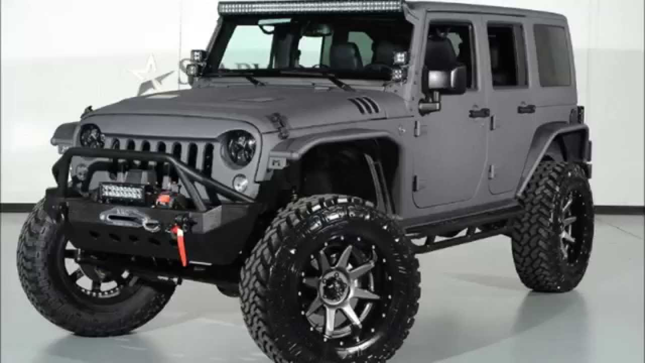 2015 jeep wrangler unlimited kevlar coated lifted jeep - youtube