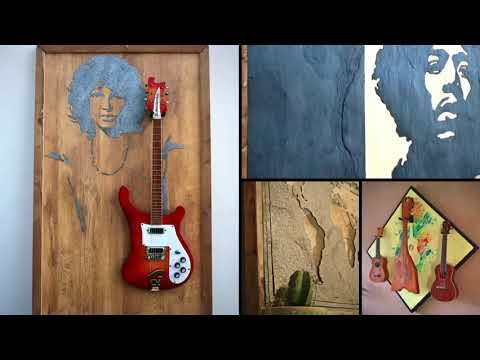 GUISPLAY Guitar Displays Wall Hanger & Wall Art Creations