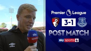 Howe hails physicality on 'tough' day | Eddie Howe Post Match | Bournemouth 3-1 Everton