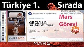 Mars 2020 Görevi İçin Biletini Al. Türkiyenin 1. Olduğu Başvuru  -İnsight Uzay Araçı