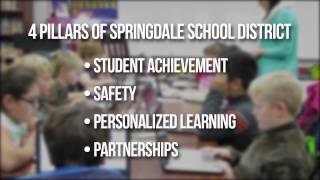 #MoreThanaGrade Springdale Public Schools