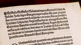 Похищенную копию письма Христофора Колумба вернули в Ватикан
