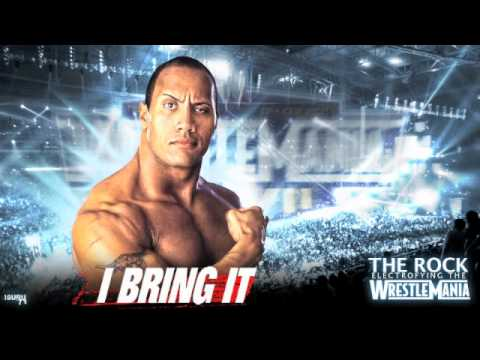 The Rock theme (1998-2001) Pitch 1 effect