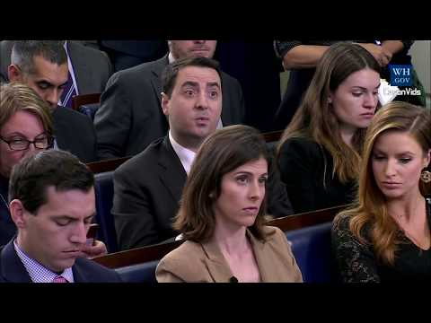Download Youtube: Sarah 'Huckabee' Sanders gets ANGRY on Trump Warren Pocahontas question