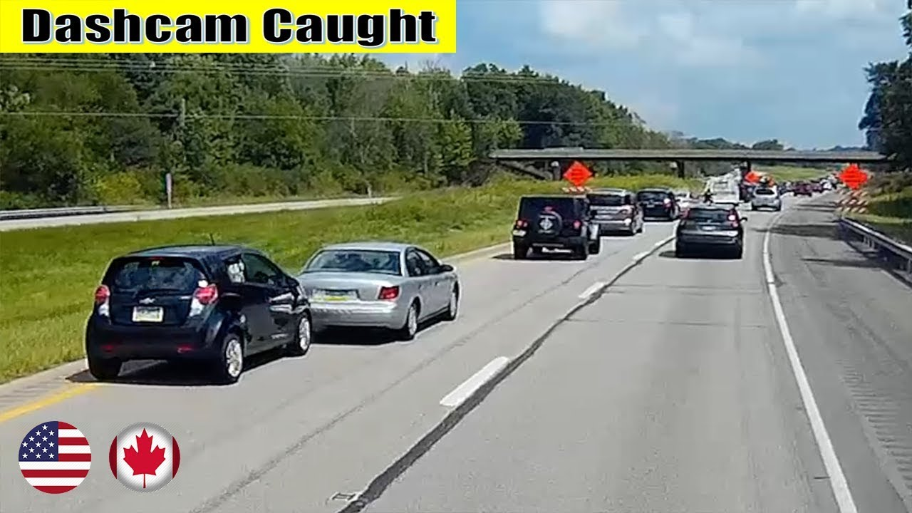 Ultimate North American Cars Driving Fails Compilation - 214 [Dash Cam Caught Video]