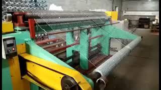 hexagonal wire netting machine…