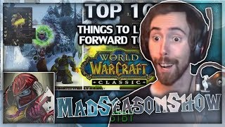 """Asmongold Reacts to """"Top 10 Things To Look Forward To In Classic WoW"""" by MadSeasonShow"""