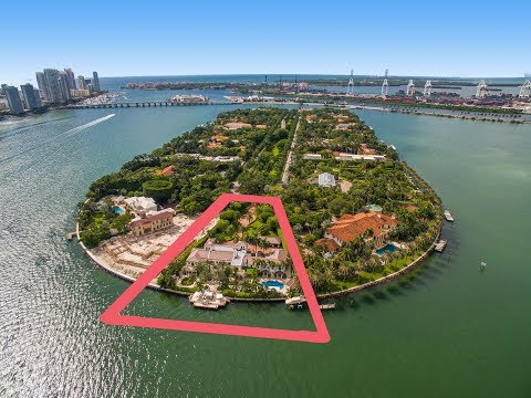 Trophy Star Island Estate - 46 Star Island Drive, Miami Beach Luxury Estate