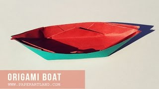 Relax Folding - How To Make An Origami Boat ( Traditional )