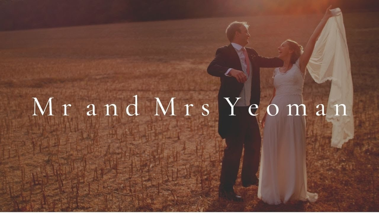 Mr and Mrs Yeoman