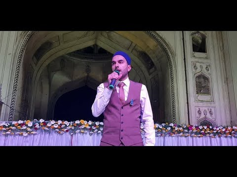 MILAD RAZA QADRI PERFORMS LIVE IN HYDERABAD AT CHARMINAR