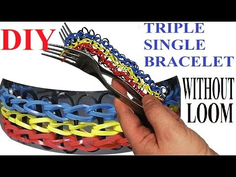 Dragon Scale Rainbow Loom Bracelet Without A Loom On 2
