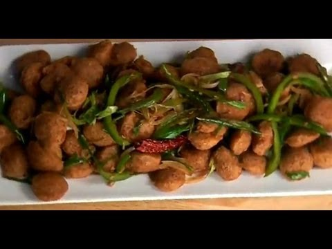 Chilli soya nuggets youtube chilli soya nuggets sanjeev kapoor khazana forumfinder Image collections
