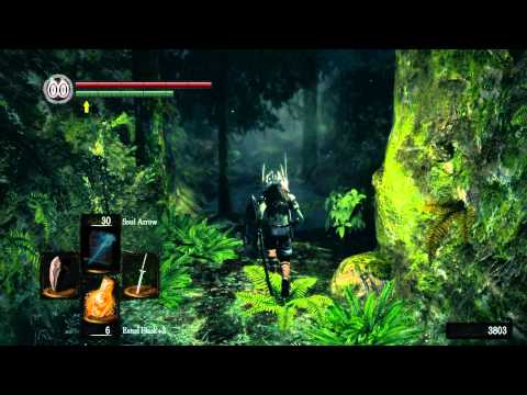 Dark Souls episode 6 The Rock, Katanas, and Ghost Trees
