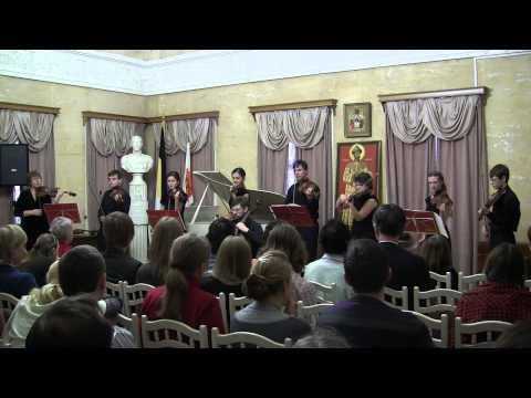 И.С. Бах. Концерт ре-минор. I часть. Солист В. Иванов