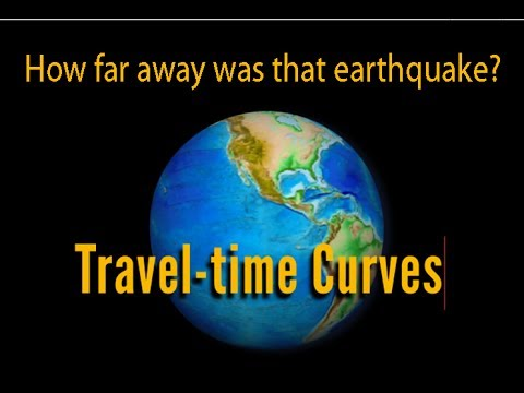 Earthquake Travel-time Curves: How far away was that earthquake?
