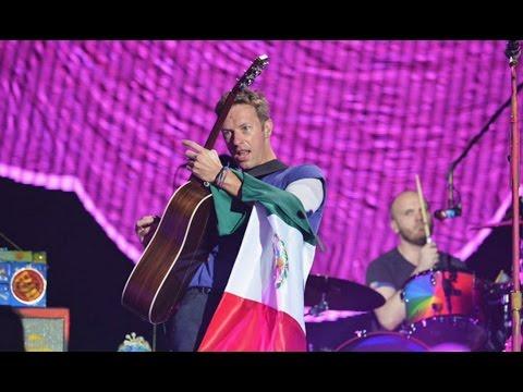 Coldplay en MEXICO 2016 - Yellow, Paradise, FixYou, Viva laVida, Adventure.., A Sky Full Of Star