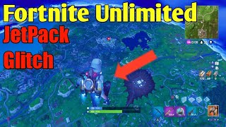 New Unlimited JetPack Glitch On Fortnite (FLYING PASS SKY BARRIER)!!!