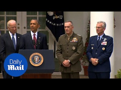 Obama names Marine General to be top U.S. military officer - Daily Mail