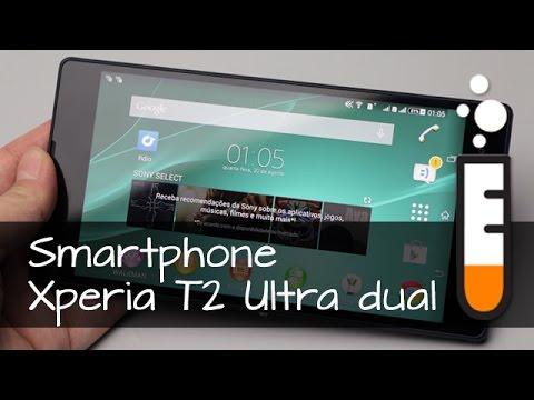 Xperia T2 Ultra Sony Smartphone - Vídeo Resenha Brasil