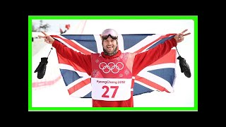 Winter Olympics Pyeonchang Great Britain record medal haul Billy Morgan snowboard bronze Big Air- N