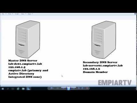 Configure A Secondary DNS Server In Windows Server 2016