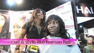 Ultima Hair Styling Demonstrations Bronner Brothers Show August 2010