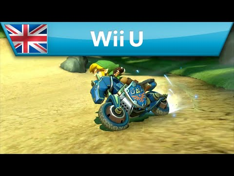 Mario Kart 8 - DLC Pack 1 Launch Trailer (Wii U)