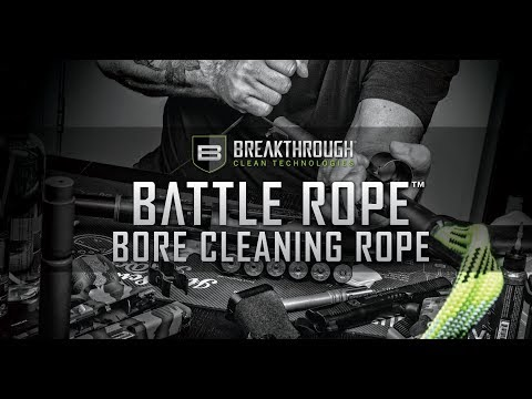 Breakthrough® Clean Technologies—New Battle Rope™ Line of Bore Cleaning Ropes