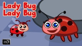Lady Bug, Lady Bug Fly Away Home - Nursery Rhymes for Children