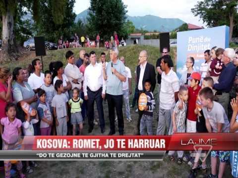 Kosova takim me komunitetin rom - News, Lajme - Vizion Plus
