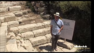 A Video Tour to the Pool of Siloan and Hezekiah's Tunnel in Jerusalem